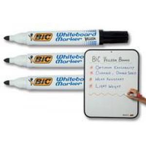 *Bic Velleda Whiteboard Marker Chisel Tip Black 1199175109
