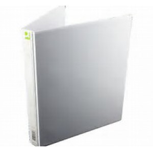 Q-Connect 25mm A4 White 4D-Ring Binder