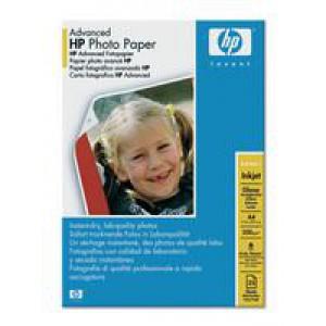 Hewlett Packard Advanced Glossy Photo Paper 250gsm A4 Pack of 25 HP Q5456A
