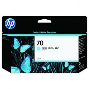 HP 70 Light Cyan Inkjet Cartridge C9390A
