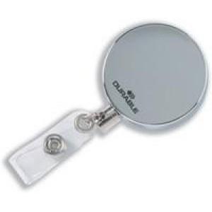 *Durable Chrome Badge Reel Pack of 10 8225/23 (X21)