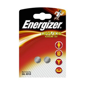 Energizer Speciality Alkaline Battery A76/LR44 Pack of 2 623055 (267402)