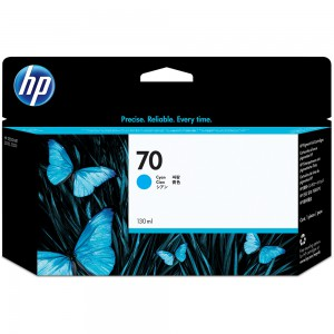 HP 70 Cyan Inkjet Cartridge C9452A