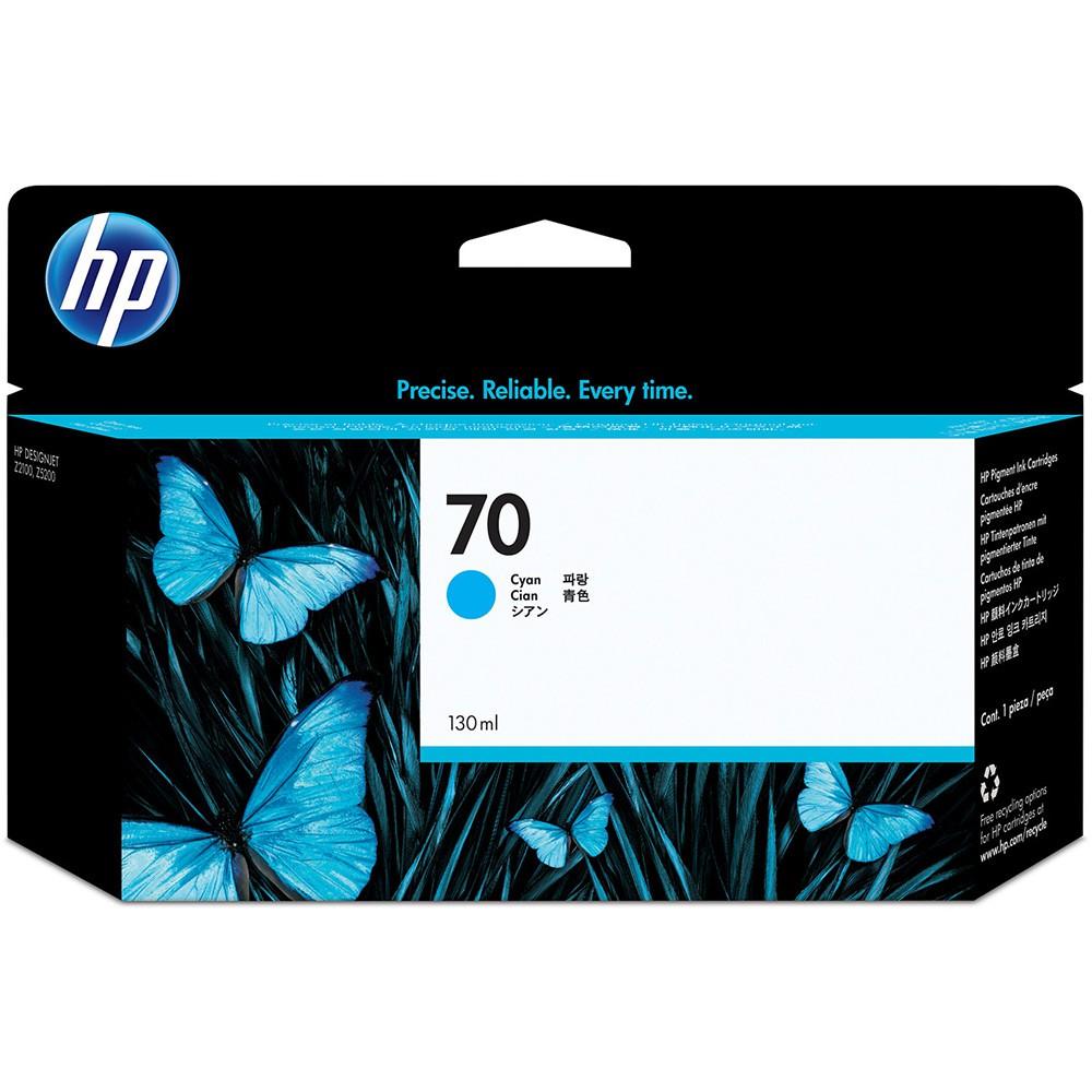 HP 70 Cyan Inkjet Cartridge C9452A