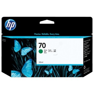 HP 70 Green Inkjet Cartridge C9457A