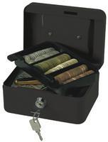Q Connect Cash Box 6 inch Black (918885)