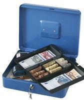 Q Connect Cash Box 12 inch Blue (918923)