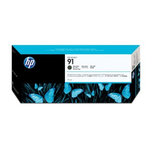HP 91 Matte Black Ink Cartridge C9464A