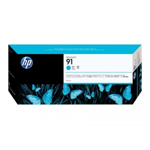 HP 91 Cyan inkjet Cartridge C9467A