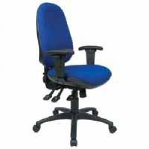 Cappela Aspire Deluxe High Back Posture Chair Blue KF03497