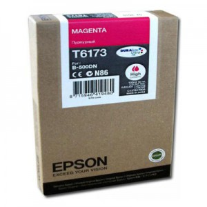 Epson B-500DN High Capacity Inkjet Cartridge Magenta C13T617300