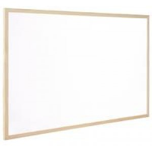 Q Connect Whiteboard Wooden Frame 300x400mm KF03569