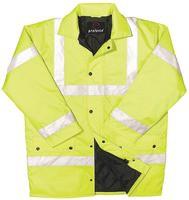 Proforce Class 3 EN471 Site Jacket X/Large Yellow HJ03YLXL
