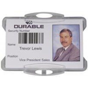 Durable Security Pass Holders without Clip (Pack of 50) 999108011