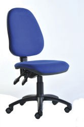 Vantage chair 2 lever in Blue