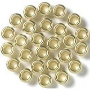 Rexel Brass Eyelets 3.2mm Shank Ref 20320050 [Pack 500]