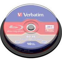 Image for Verbatim Blu-Ray Laser Disk BD-RE 25Gb 2X Spindle Pack 43694
