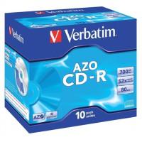 Image for Verbatim CD-R 700Mb/80minutes Jewel Case Pack of 10 43327