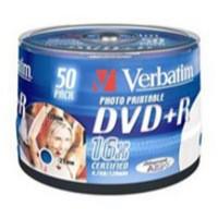 Verbatim DVD+R 16X 4.7Gb Spindle Pack of 50 43512