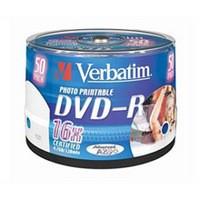 Verbatim DVD-R 4.7Gb 6X Spindle Pack of 50 43533