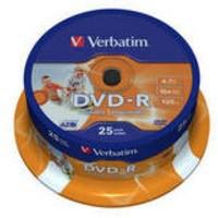 Verbatim DVD-R 16X Spindle Pack of 25 43538
