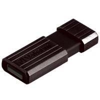Verbatim Pinstripe USB Drive 64Gb Black 49065