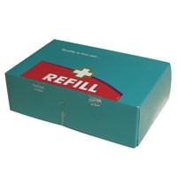 Wallace Cameron 1-10 Person Food Hygiene First Aid Kit Refill 1036141