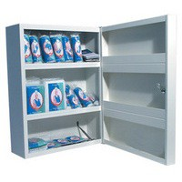 Wallace Cameron First Aid Cabinet 1-50 Persons Metal 4603011