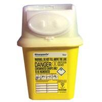 Wallace Yellow Medicinal Sharps Bin 4 Litre 4402008