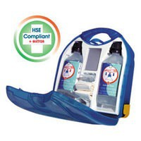 Wallace Cameron Eyewash Dispenser Mezzo Unit Recommended by HSE Ref 1006084