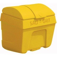 Image for Salt/Grit Bin Lockable 200L Yellow 317063