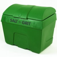 Winter Salt/Grit Bin No Hopper 400 Litre Green 317069