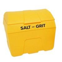 Salt/Grit Bin Lockable no Hopper Feed 400 Litre 317074