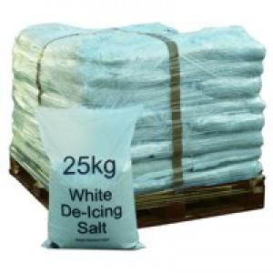 Winter De-Icing Salt White 25Kg Pallet of 40 383208