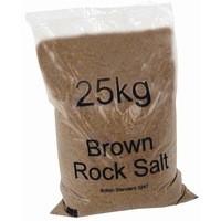 Image for Dry Brown Rock Salt 25kg Bag Pk20 384072
