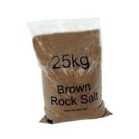Winter Dry Brown Rock Salt 25Kg 384071