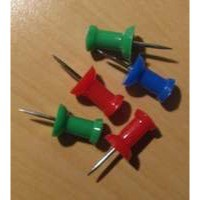 Clipper Push Pin Assorted Pack of 20 20371