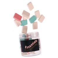 Pencil Eraser Assorted Tub of 25 37691