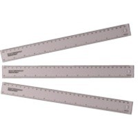Ruler 300mm Clear
