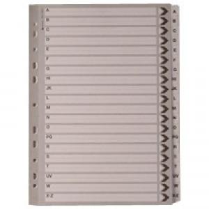 A4 Mylar Index A-Z White WX01532
