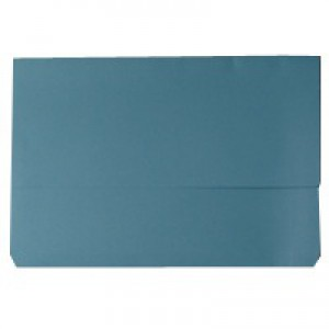 Document Wallet 220gsm Foolscap Blue WX23011A