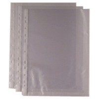 Image for Punched Pocket A4 Clear 270486 Pack of 100