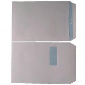 Envelope C4 Window 90gsm White Self-Seal Pack of 250 WX3501