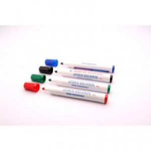 Whiteboard Marker Bullet Tip Assorted Pack of 4 WX98005