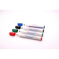 Whiteboard Marker Bullet Tip Assorted Pk 4