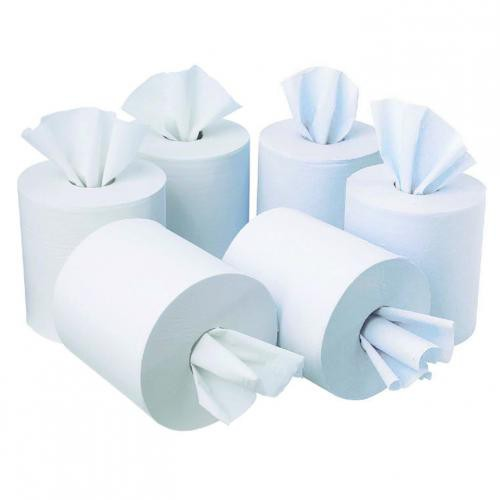 Initiative Toilet Roll Wht 320 Shts Pk36