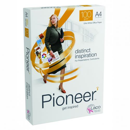 Pioneer Doc Paper Fsc4 A4 100G Pk250 Wht